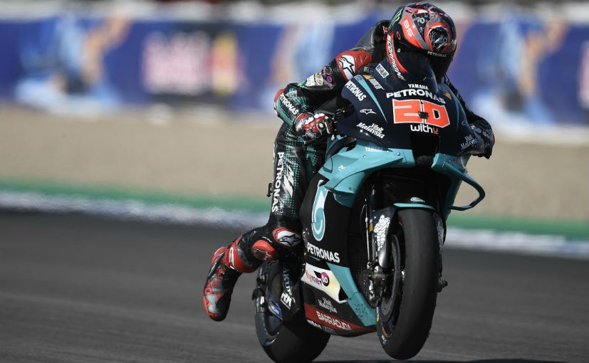 MotoGP: Fabio Quartararo Bags Pole Position In Andalusia GP; Marc Marquez Withdraws From The Race