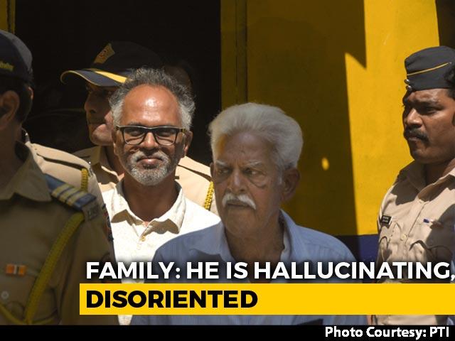 Video : Health Of Varavara Rao, Accused In Elgar Parishad Case, Deteriorating, Claims Family