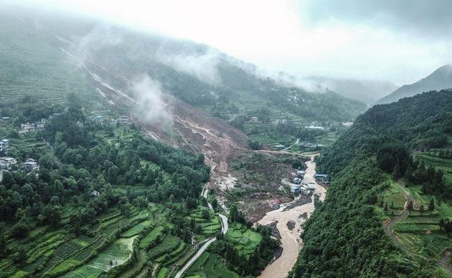 China Landslides Leave At Least 14 Dead Or Missing