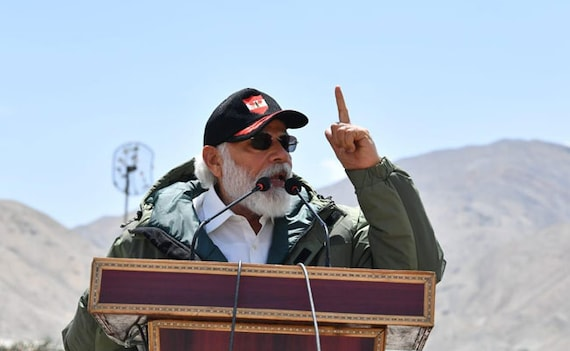 At Ladakh, PM Modi's Strong Message Against 'Expansionism'