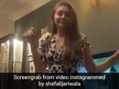 शेफाली जरीवाला पंजाबी गाना सुनकर रोक नहीं पाईं पांव, 'कांटा लगा गर्ल' ने यूं किया डांस- देखें Video