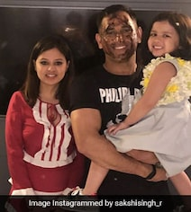 'Greyed A Bit More': Sakshi's Birthday Wish For MS Dhoni Takes The Cake