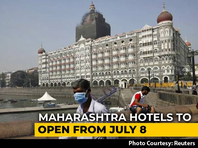 Video : Maharashtra Allows Hotels Outside Containment Zones To Reopen From July 8
