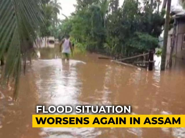 Video : Assam: Focus On Rescuing Those Displaced By Flood