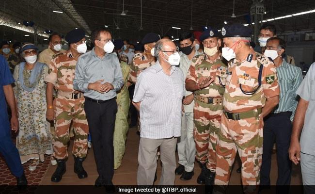 Delhi Lt Governor Inaugurates World's 'Largest' COVID Care Centre