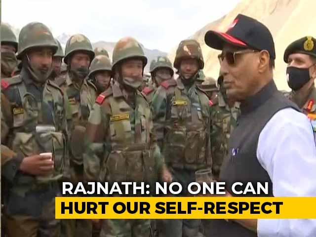 "Video : ""Talks Should Resolve Row, Can't Guarantee..."": Rajnath Singh On China"
