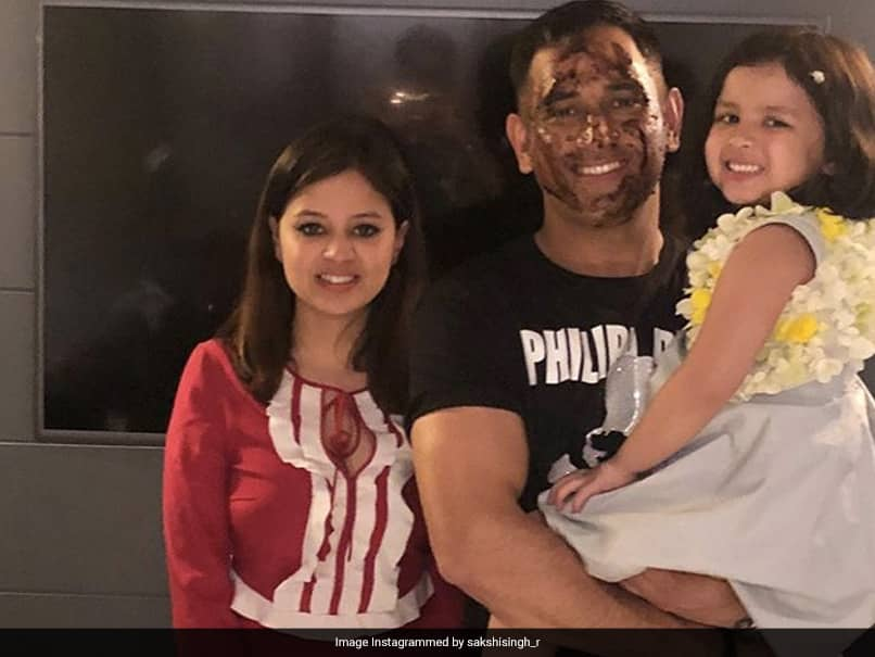 """Greyed A Bit More"": Wife Sakshis Birthday Wish For MS Dhoni Takes The Cake"