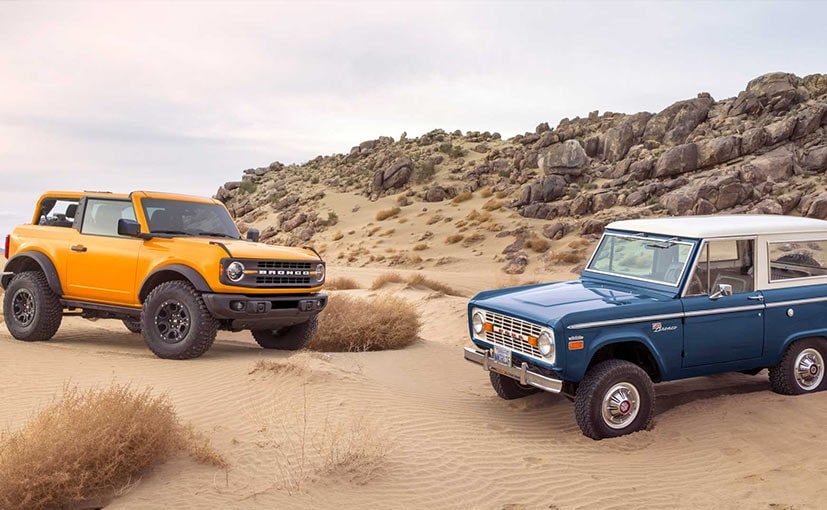 2021 Ford Bronco Unveiled In USA