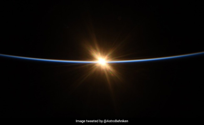 A Sunrise From Space, Captured In Breathtaking Pics By NASA Astronaut