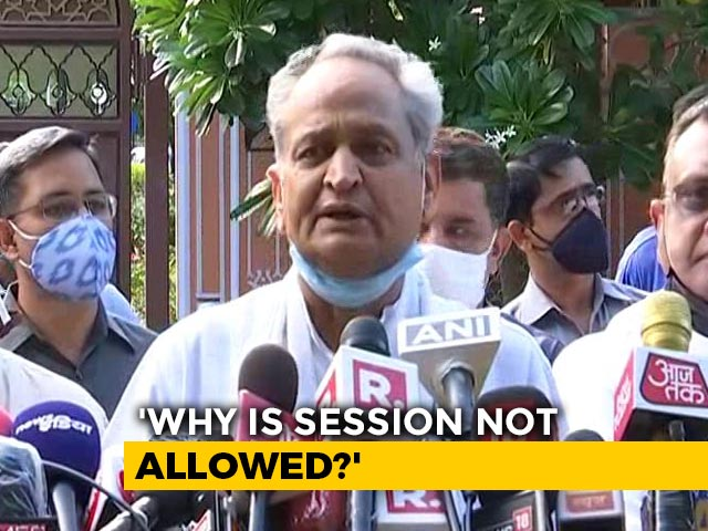 Video : There's Pressure From The Top On Governor, Says Ashok Gehlot