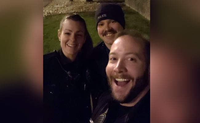 US Officers Sacked After Photo Imitating Chokehold On Black Man Surfaces