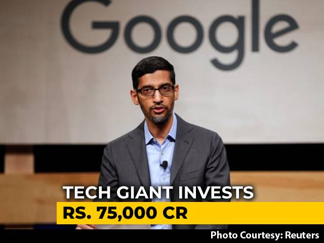 Video : Google's Rs 75,000-Crore Fund To Help Accelerate India's Digital Economy