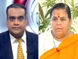 Video : Uma Bharti On Ram Temple Ceremony, Sharad Pawar's Remarks And Babri Case