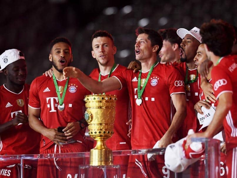 Robert Lewandowski Passes 50-Goal Mark As Bayern Munich Win 20th German Cup To Complete Double