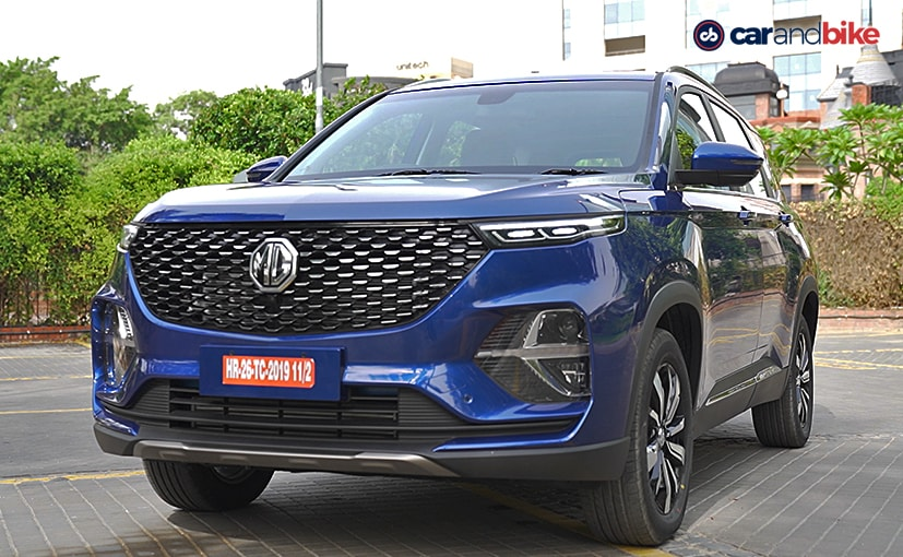Prices for the MG Hector Plus start at Rs. 13.48 lakh and go up to Rs. 18.53 lakh