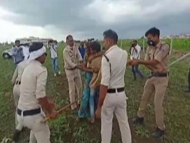 "Video : ""No Option But To Kill Self"": Land Seized, Farmer Couple Drinks Pesticide"