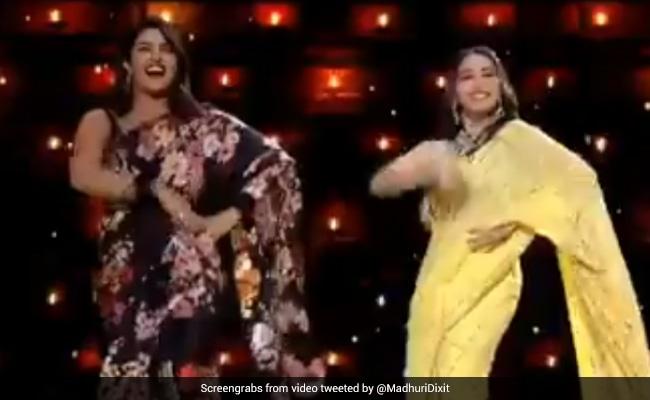 माधुरी दीक्षित ने 'पिंगा ग पोरी' पर प्रियंका चोपड़ा संग किया डांस, बर्थडे पर शेयर किया Video