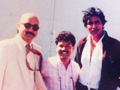 Trending: Amitabh Bachchan And Anupam Kher In A Rare Throwback Pic