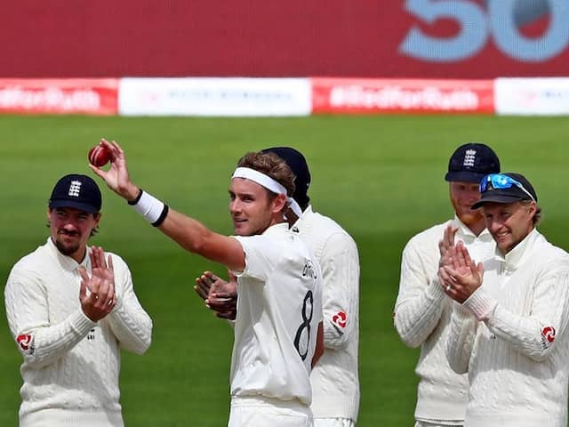 3rd Test: England Beat West Indies To Claim Series As Stuart Broad Makes History