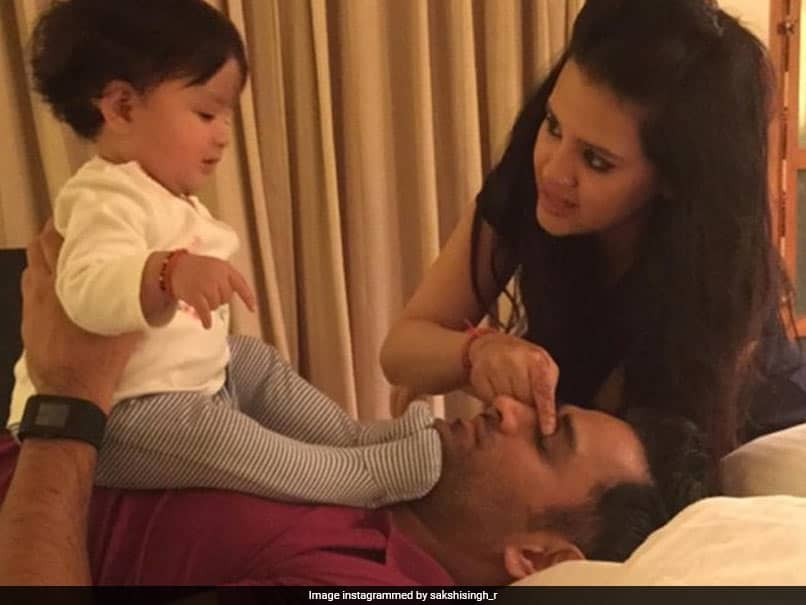 MS Dhonis Wife Sakshi Posts Adorable Message On 10th Marriage Anniversary