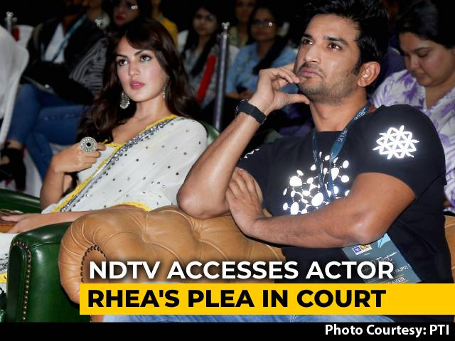 Video : Was Living With Sushant Rajput, Left On June 8: Rhea Chakraborty To Court