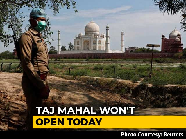 Video : Taj Mahal Won't Open Today, Order Cites Risk Of COVID-19 Spread