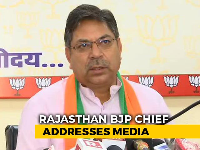 "Video : ""Congress Plan To Malign"": BJP On Alleged Rajasthan Tape"