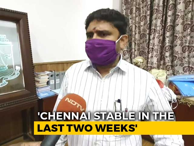 """Video : """"Further Decline Likely In 10 Days"""":  Chennai Commissioner On COVID-19 Cases"""