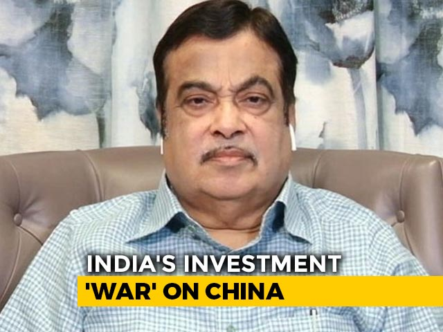 Video : No Chinese Firms In Road Projects, Not Even Joint Ventures: Nitin Gadkari