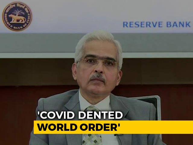 Video: COVID-19 Worst Health, Economic Crisis In Last 100 Years: RBI Chief