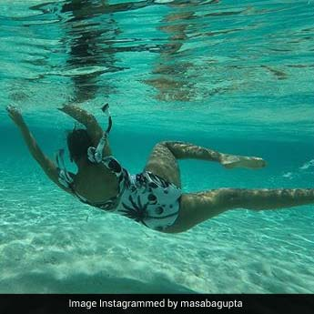 Masaba Gupta Swimming In The Ocean Has Us Wishing For A Beach Holiday