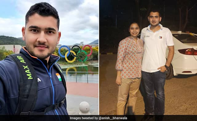 Indian pistol shooter Anish Bhanwala score 90 percentage marks in cbse class 12th boards
