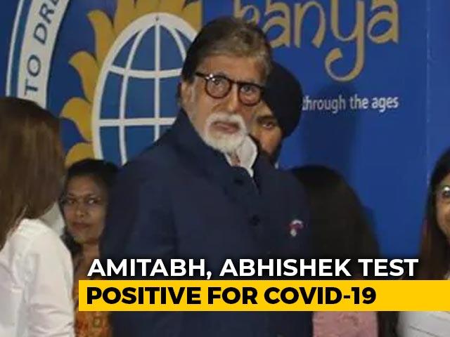 Video : Amitabh Bachchan, Son Abhishek Test Coronavirus +ve, Admitted To Hospital