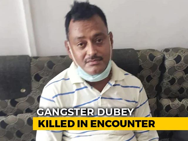 Video : Accident, An Attempted Escape, Shot Dead: Cops On Gangster Vikas Dubey
