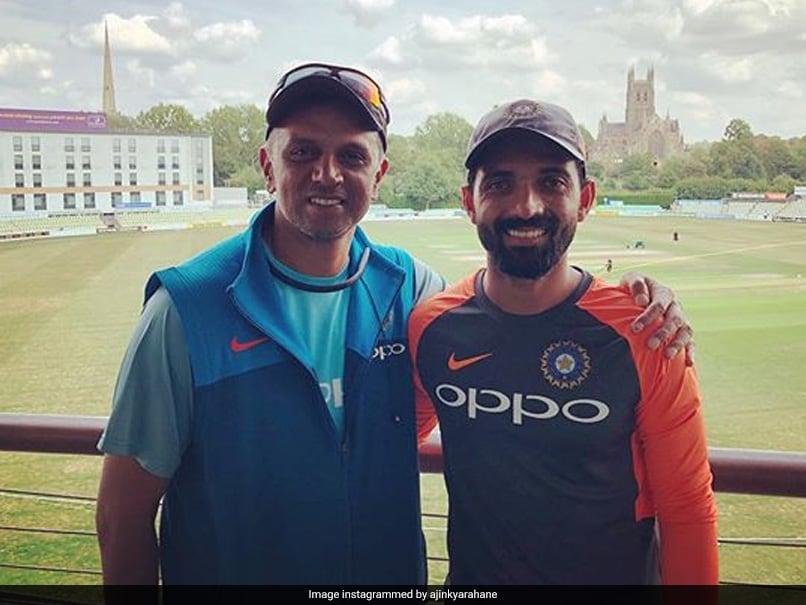 """""""Dont Bother What The Shots Look Like"""": What Rahul Dravid Advised Ajinkya Rahane For T20s"""