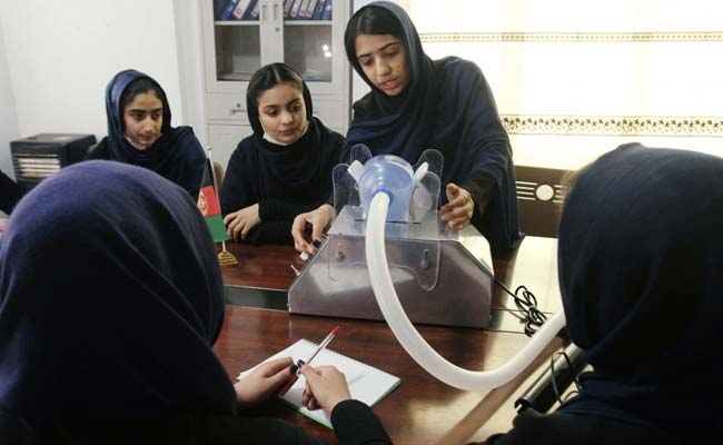 Afghan All-Girls Robotics Team Designs Low-Cost Ventilator To Treat Coronavirus Patients