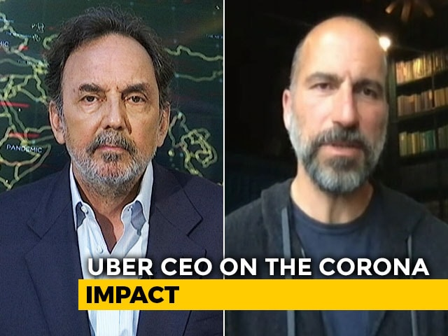 Video : Prannoy Roy Speaks To Uber Global CEO On The New Normal