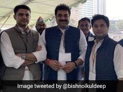 Haryana Congress's Kuldeep Bishnoi Backs Sachin Pilot, Congratulates Jyotiraditya Scindia
