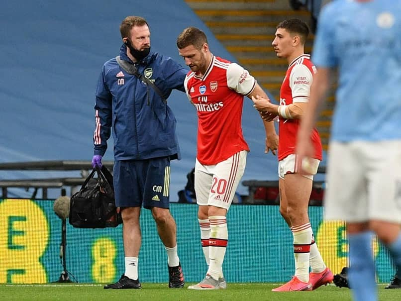 Arsenal Defender Shkodran Mustafi Ruled Out Of FA Cup Final vs Chelsea