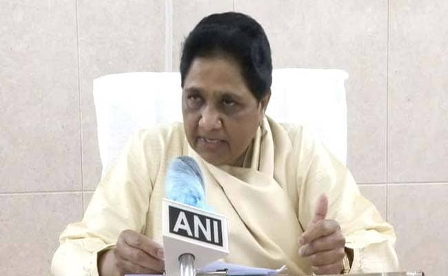 UP Assembly Session: Mayawati Asks All MLAs To Rise Above Party Politics