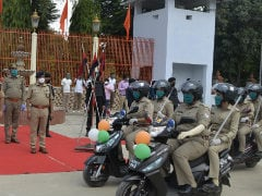 Hero MotoCorp Presents 100 Scooters To Women Officers Of UP Police