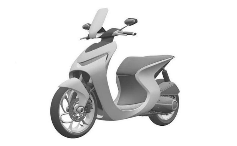 Latest patent images reveal Honda neo-retro scooter concept