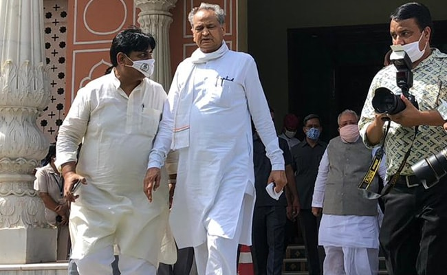 Ashok Gehlot Cabinet Meets On Governor's Queries On Assembly Session