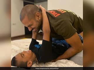 """Shikhar Dhawan Says Getting Zoraver Out Of Bed Every Morning Is The """"Toughest Task"""""""