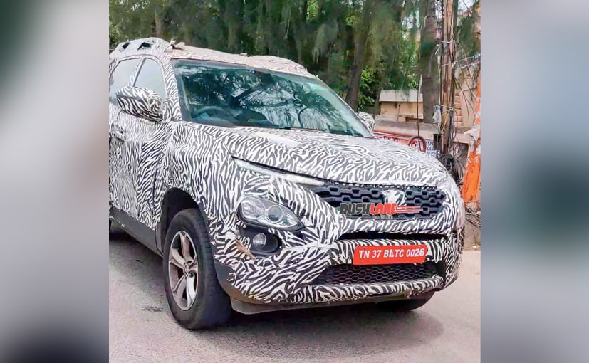 The upcoming Tata Gravitas will be the 3-row version of the company's existing Tata Harrier SUV