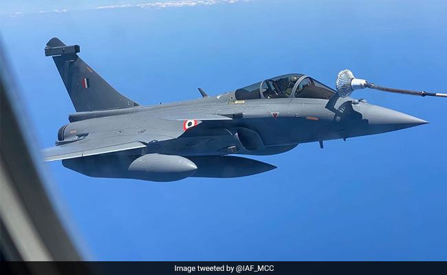 5 Rafales To Land In India Today, Will Join IAF's 'Golden Arrows' Squadron