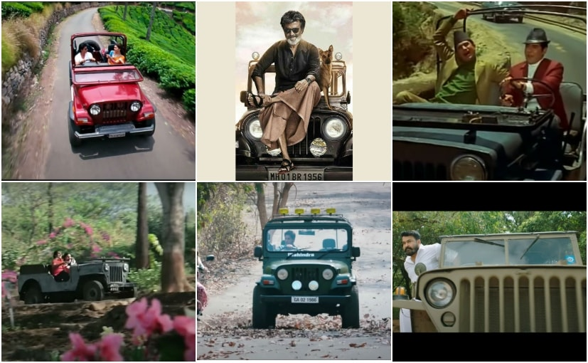 From 1969's Aradhana to the 2019 flick Lucifer, Mahindra's Classic 4x4s are icons on screen
