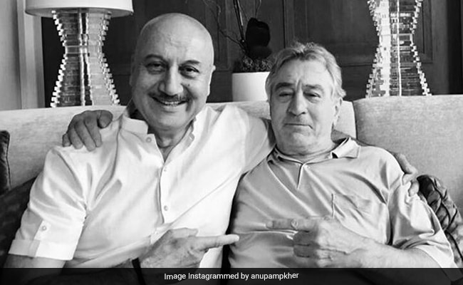'My Most Priceless Possession': Anupam Kher Reveals The Story Behind This Pic With Robert De Niro