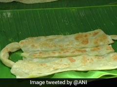 Watch: 'Mask' <i>Parottas</i> At A Madurai Restaurant For COVID-19 Awareness