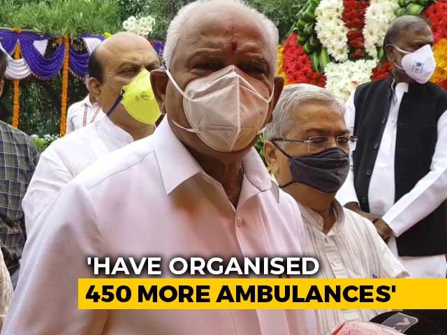 Video: No Need To Panic, Have To Live With Virus: BS Yediyurappa To Bengaluru